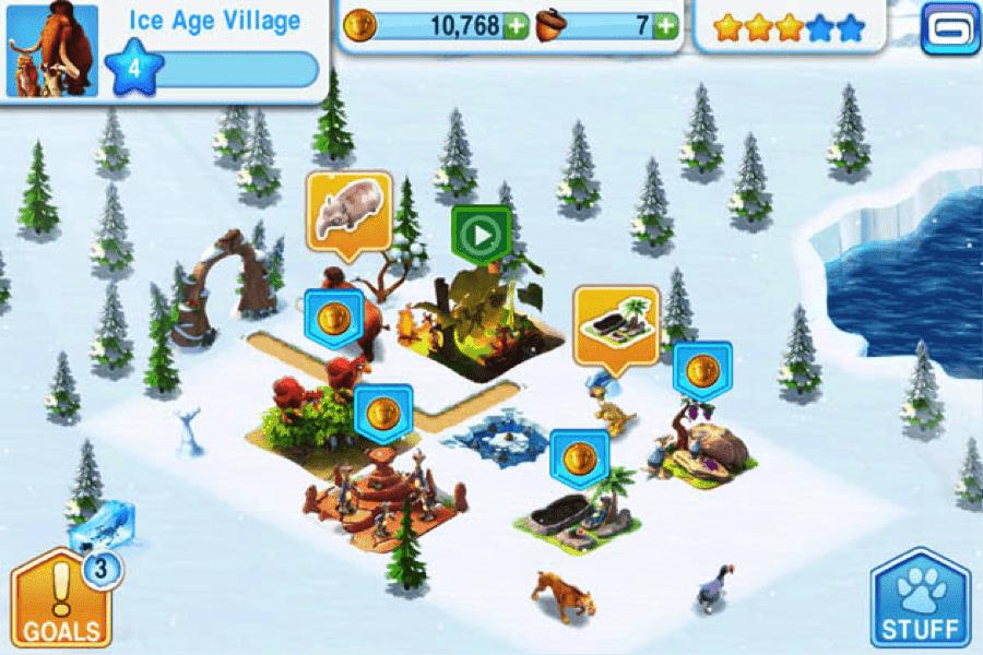 Ice Age Game Screenshot